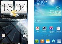 Samsung TouchWiz und HTC Sense im Vergleich