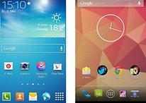 Samsungs TouchWiz und Stock-Android: Herstelleraufsätze im Vergleich