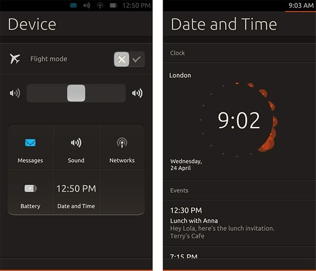 ubuntu touch notifications