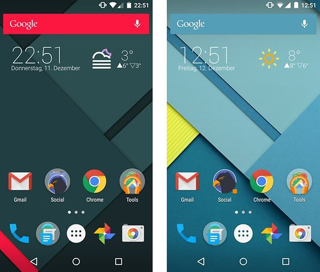 action launcher3 quicktheme