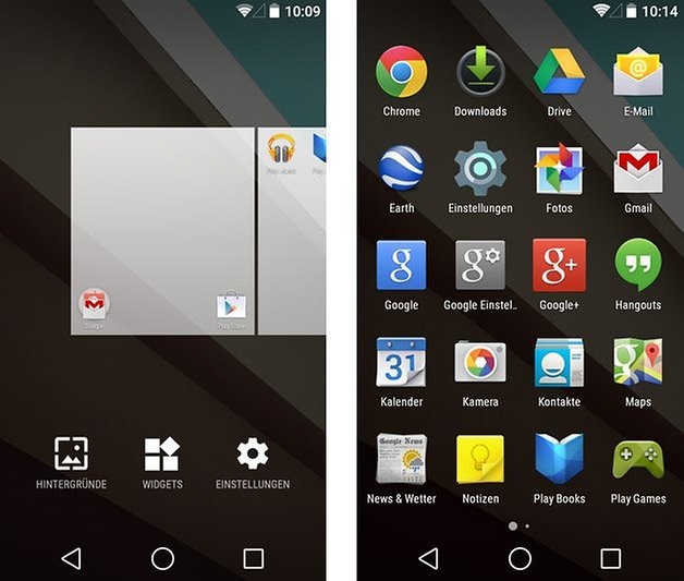 android l google now launcher