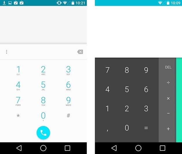 android l telefon taschenrechner