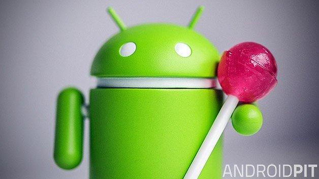 android lollipop bugdroid teaser