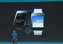 G Watch, Moto 360, Samsung Gear Live: Smartwatches mit Android Wear [UPDATE]