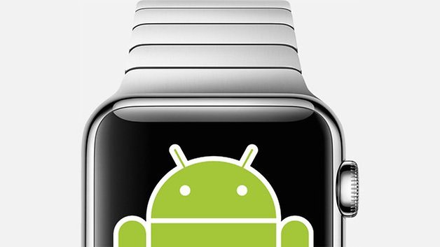 apple watch android bugdroid
