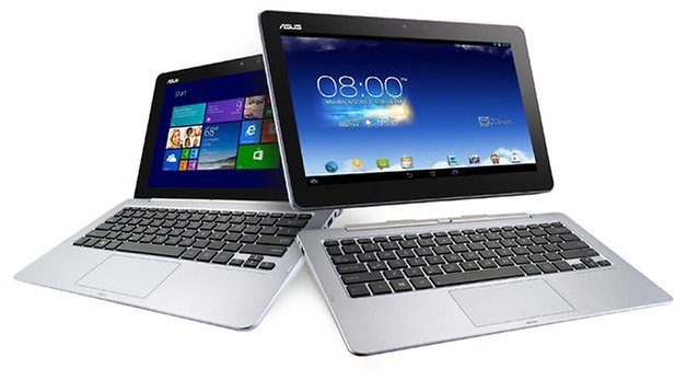 asus transformer book trio detail