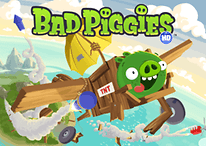 Bad Piggies è arrivato su Google Play
