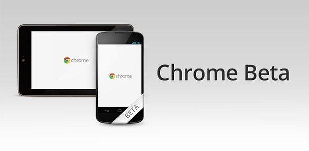 chrome android beta