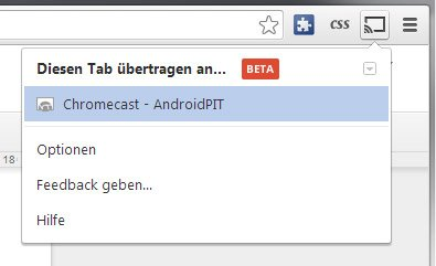 chrome google cast