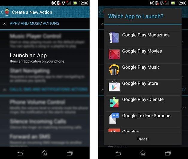 condi app action
