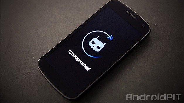 cyanogenmod 11 galaxy nexus bootlogo