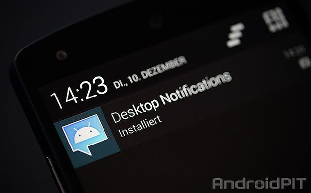 desktop notifications nexus 5 play store