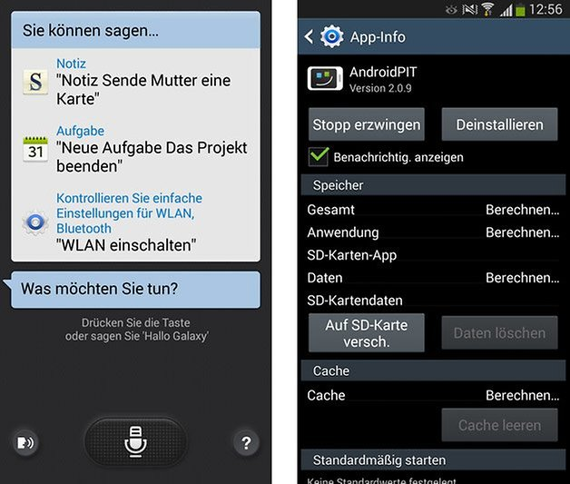galaxy s3 s voice apps sd karte