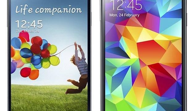 Samsung Galaxy S5 vs. Samsung Galaxy S4: nessun motivo di cambiare!