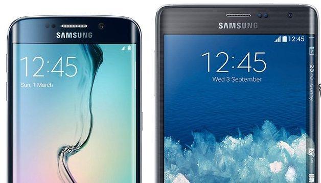 Galaxy S6 Edge vs. Galaxy Note Edge: Welches Telefon gibt sich die Kante?