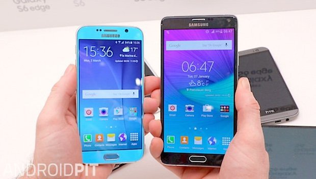 s6 vs galaxy galaxy note 4 01