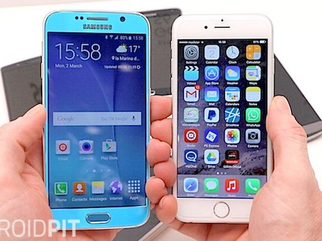 galaxy s6 vs iphone 6 comparison who makes the better iphone