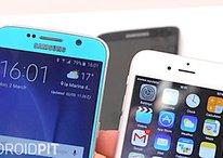 Samsung Galaxy S6 vs iPhone 6 - Comparación