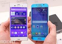 Samsung Galaxy S6 vs Sony Xperia Z3 - Comparación