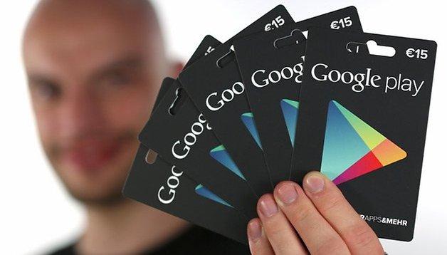 [Update] Verlosung: Gewinnt eine von fünf Google-Play-Geschenkkarten