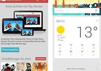 Google Play Movies und Google Now: Neues Design und mehr Karten