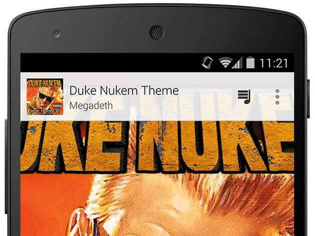 google play music nexus 5 duke nukem