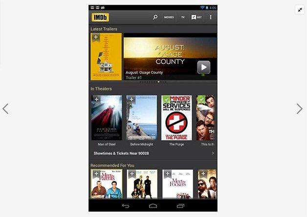 Camera stock Android Nexus 4 gravar videos