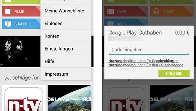 [Update] Google Play: Geschenkkarten jetzt auch in Deutschland