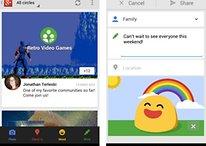 Importante mise à jour de Google + pour Android