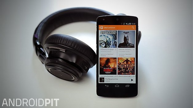 headphones nexus 5 google play music