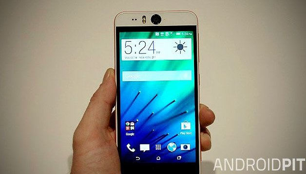 Premier test du HTC Desire Eye : le top du selfie