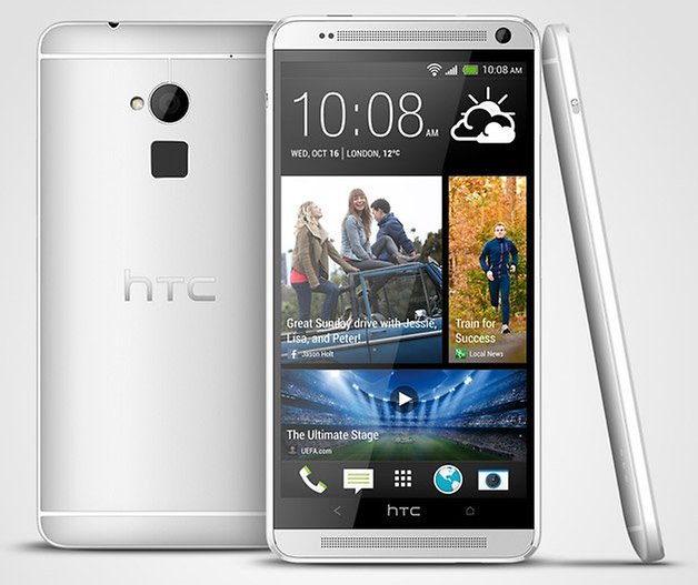 htc one max back front side