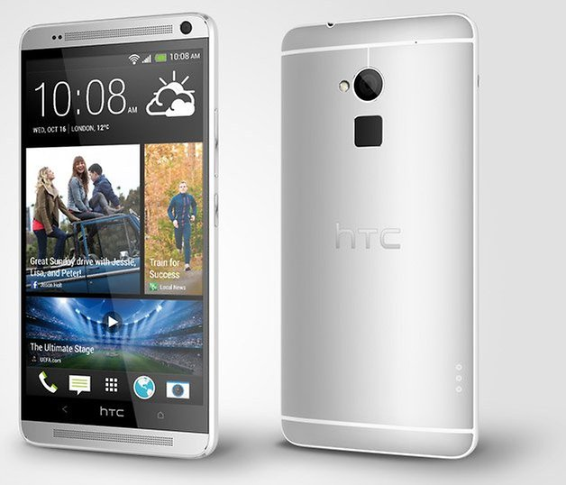 htc one max front back