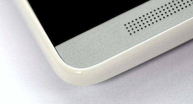 htc one mini side plastic material