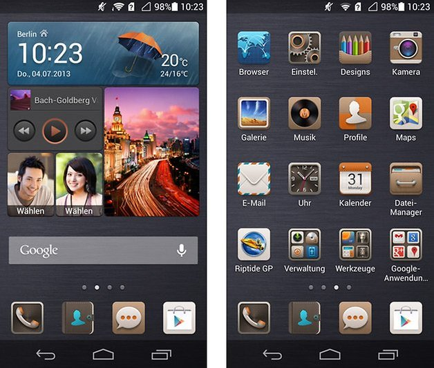 huawei ascend p6 emotionui homescreen