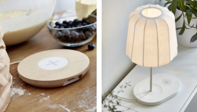 IKEA furniture to come with Qi wireless charging for your phone