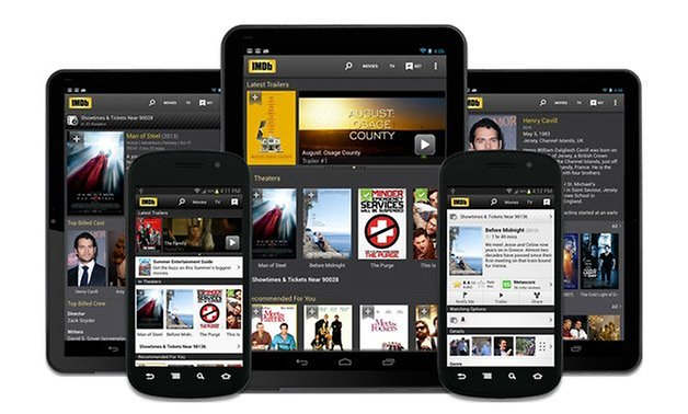 imdb app android smartphone tablet