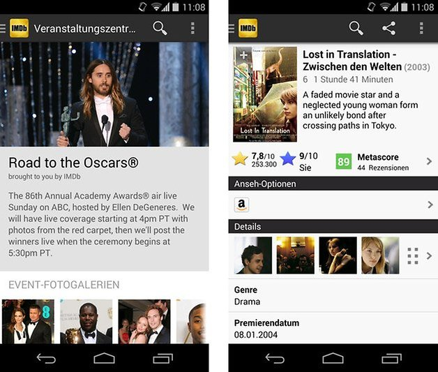 imdb app beta oscars lost in translation