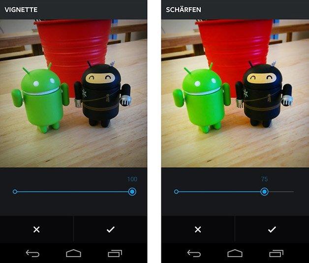 instagram android bilder manuell bearbeiten