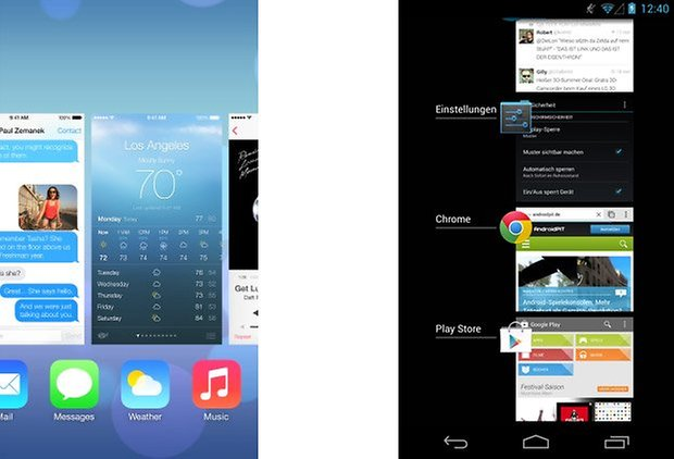 ios android multitasking
