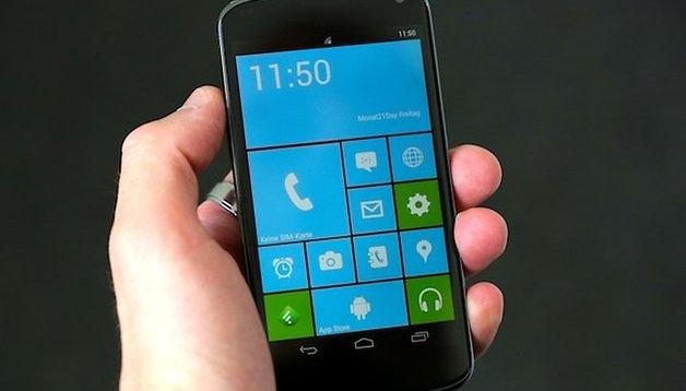 Launcher 8: Windows Phone auf dem Android-Smartphone