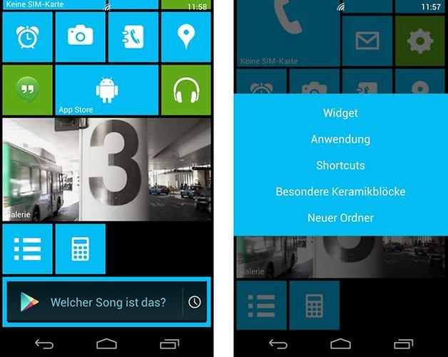 launcher 8 widgets