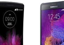 LG G Flex 2 vs. Samsung Galaxy Note 4: Das ungleiche Paar