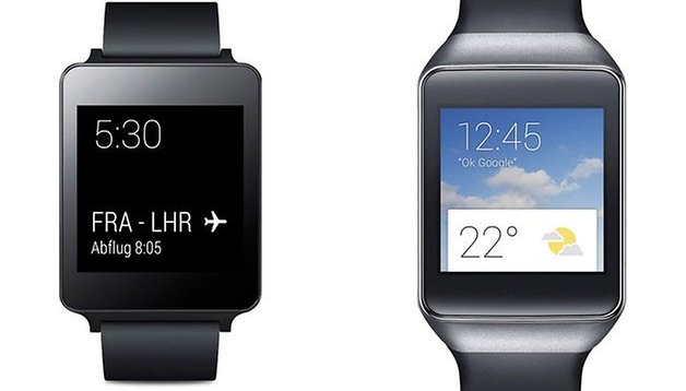 LG G Watch vs. Samsung Gear Live: specifiche a confronto