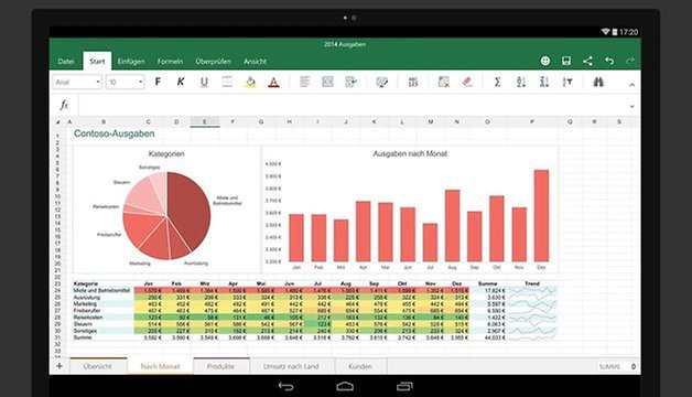 microsoft excel android