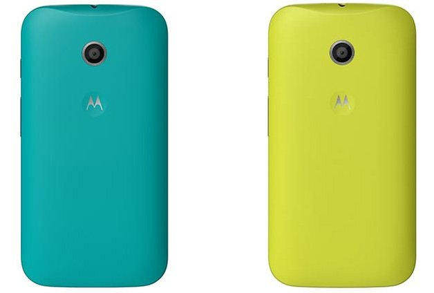 moto e back cover leak