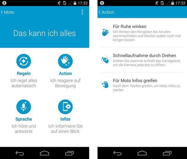 moto x 2014 moto app actions