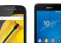 Moto E (2015) vs. Sony Xperia E4g: Günstig gegen günstig