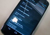 La versión Android 4.2.2 aparece en un Nexus 4 de Brasil