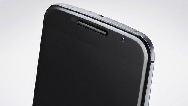 nexus 6 top closeup